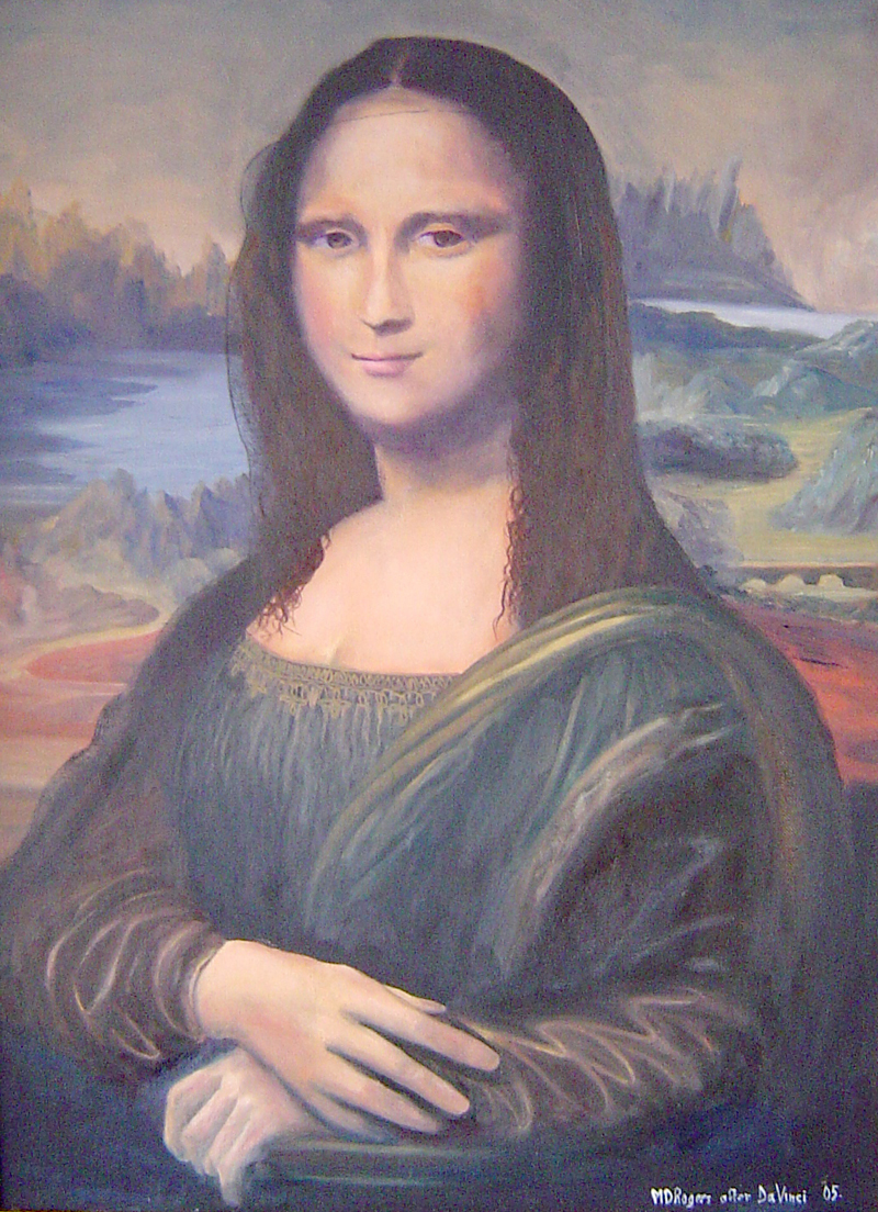 Mona Lisa after Da Vinci