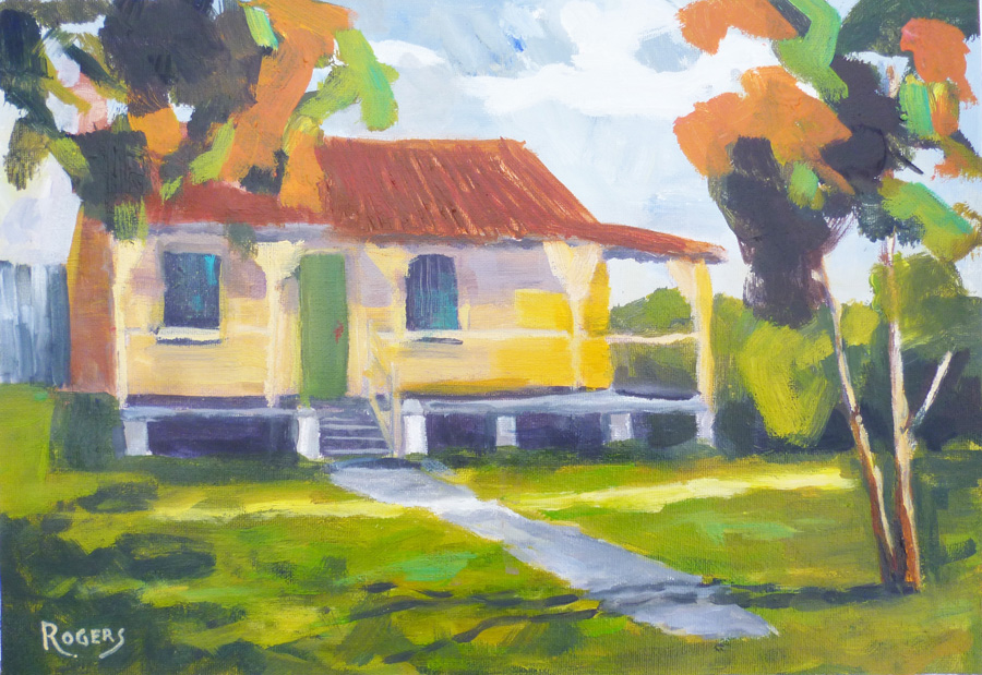 """Gunyah"" (No 2) - Historic home, Sylvania, NSW"