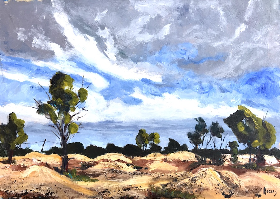 Lightning Ridge Mullock Heaps