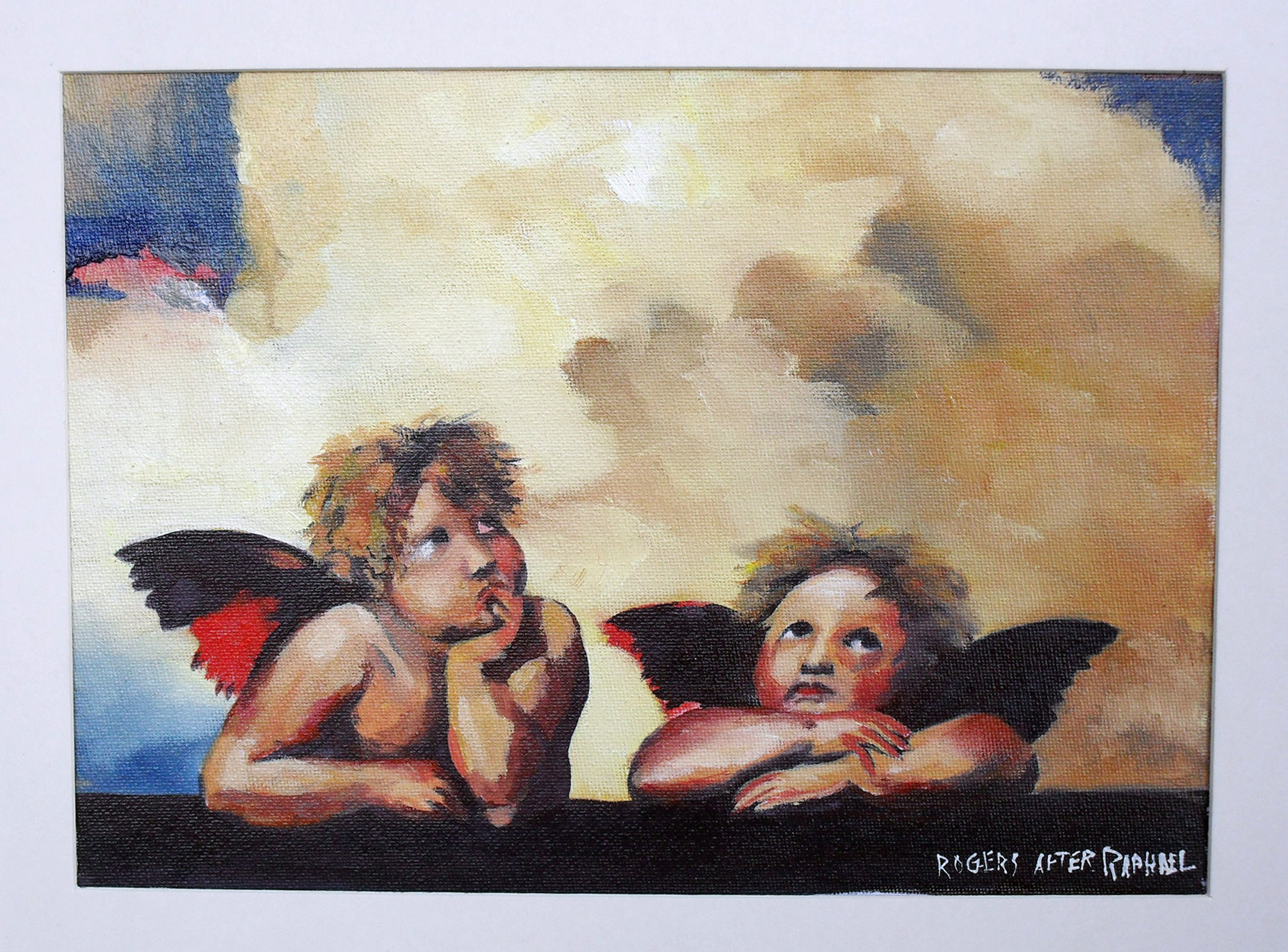 Little Angels (framed)