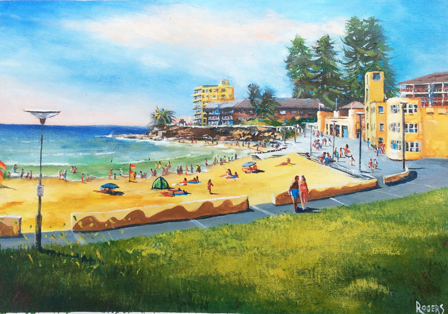 Cronulla Beach looking southwards