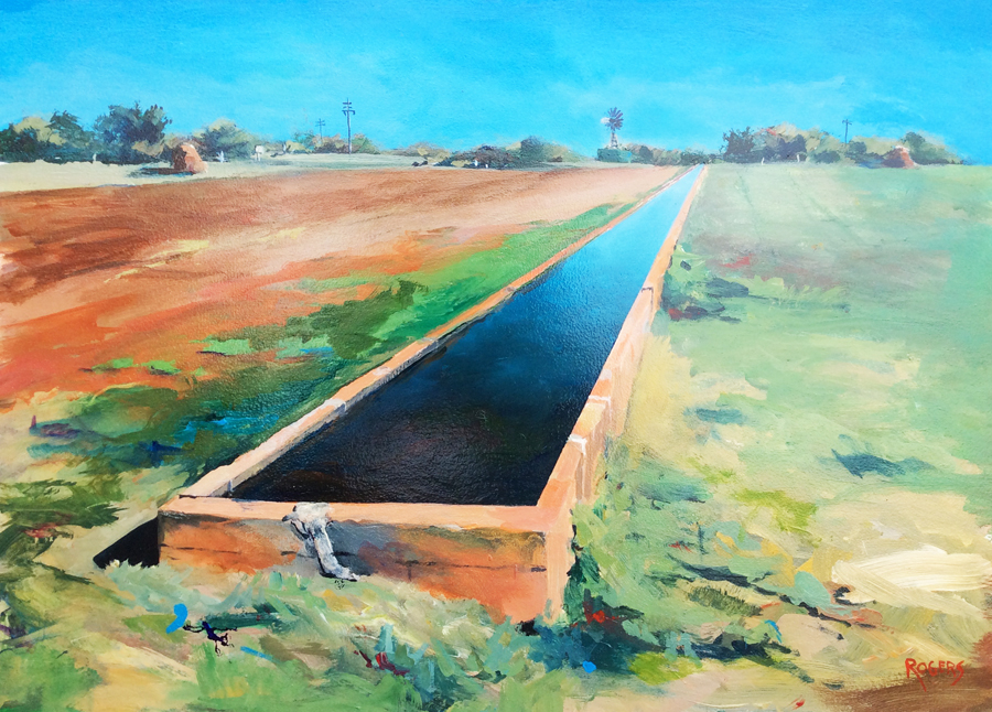 The Longest Cattle Trough in the Southern Hemisphere